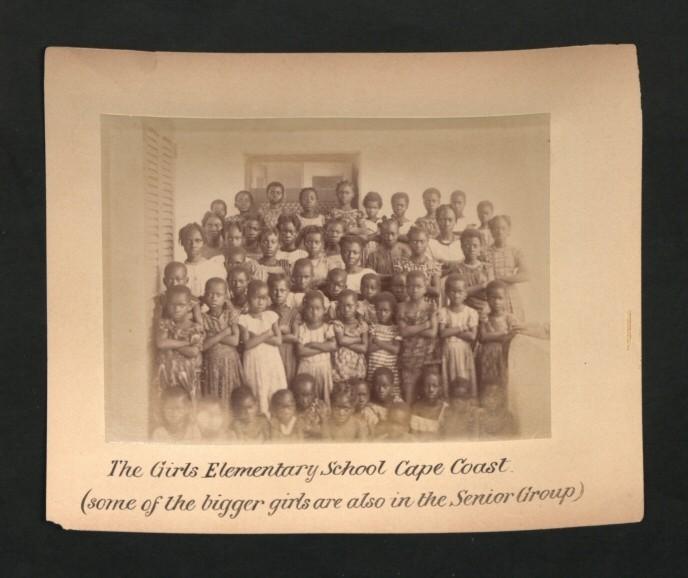 Cape Coast Elementary School for Girls 1893