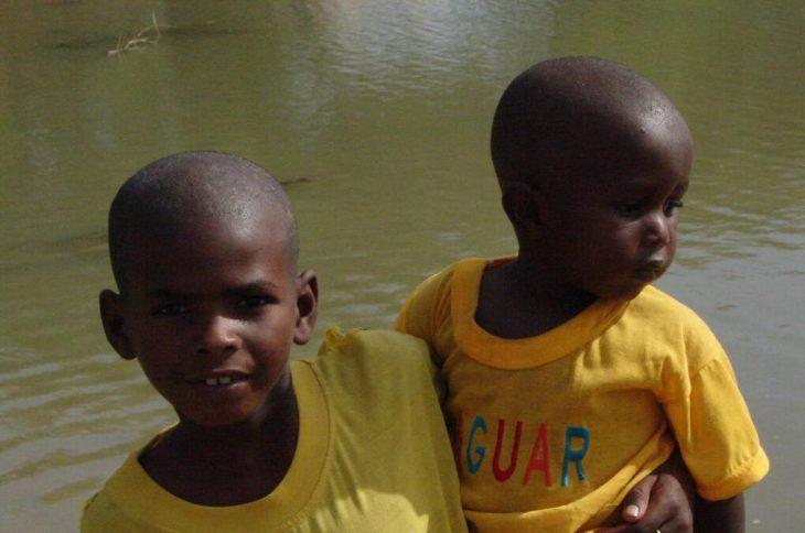 Children in the Sine-Saloum Delta
