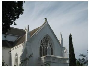 Church view in Stellenbosch