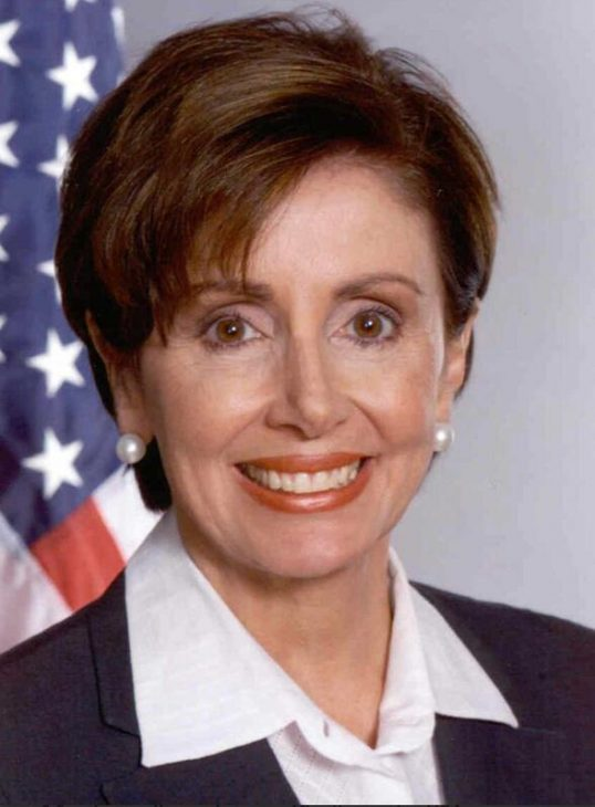 Congresswoman and Speaker of the House of Representatives Nancy Pelosi visits Ghana in July 2019