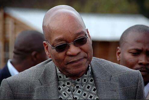 Controversial - ANC President Jacob Zuma