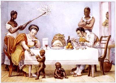 Debret, everyday scene (1816-1831)