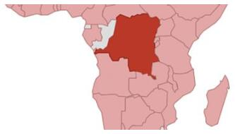 Democratic Republic of the Congo Location