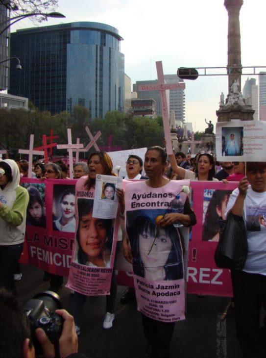 Demonstration against violence against women