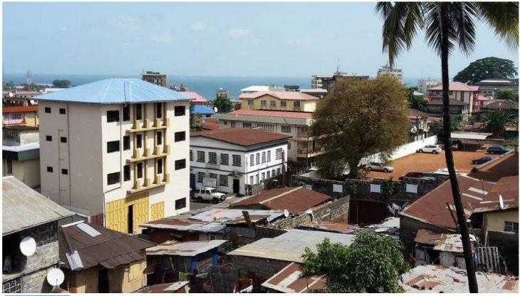 Downtown Freetown