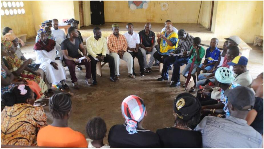 Ebola dialogue forum from the Justice and Peace Commission