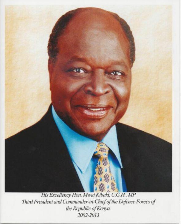 Emilio Mwai Kibaki 2002 - 2013