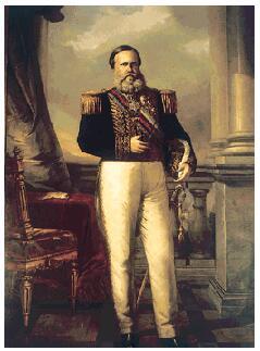 Emperor Dom Pedro II (1840-1889)