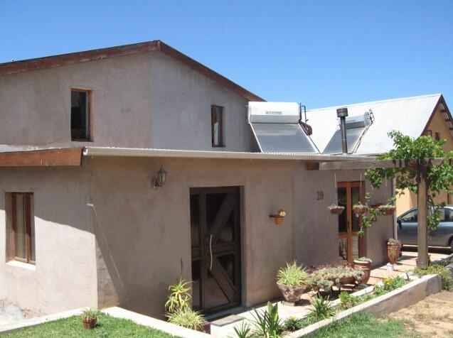 Energy-saving houses - Lynedoch Ecovillage