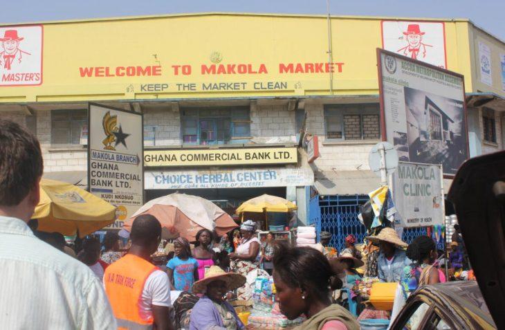 Entrance Makola Market