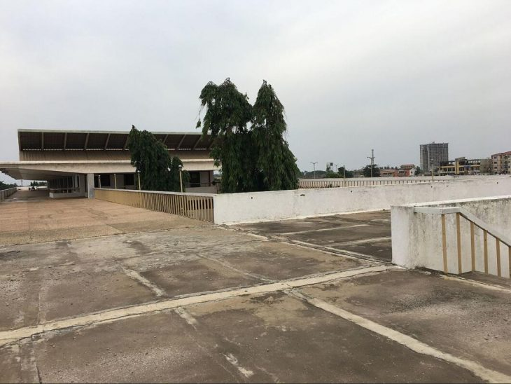 Exhibition center in Accra - location of the republica conference