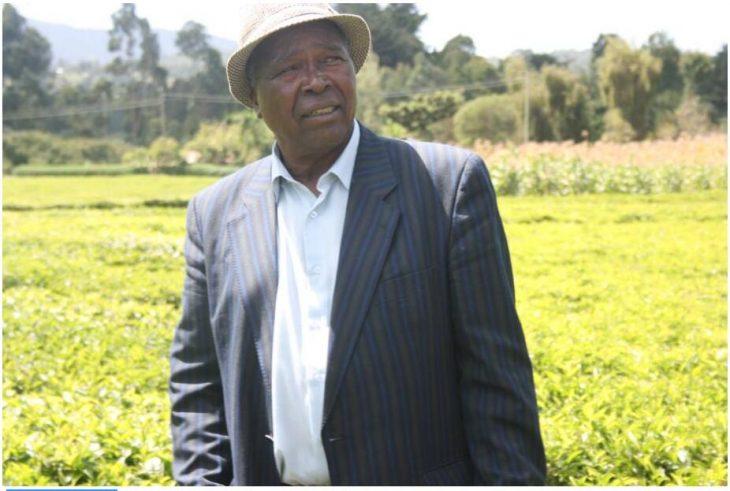 Festus Kerino, tea farmer