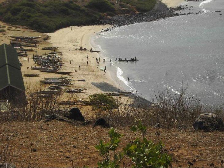 Fisherman's beach in Ouakam