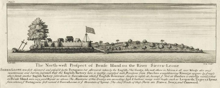 Fort Bunce in historical illustration
