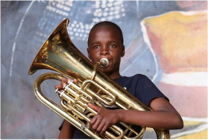 Fun in the brass band