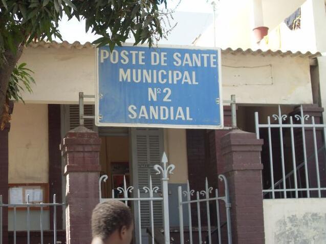 Health station Dakar
