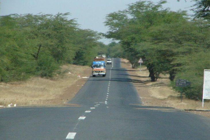 Interurban road