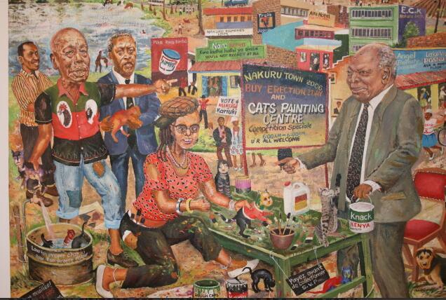Joseph Mbatia saw politics