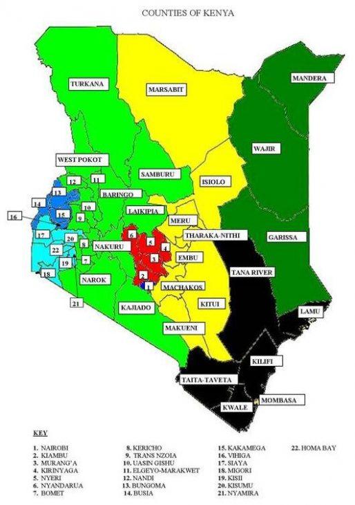 Kenya's counties