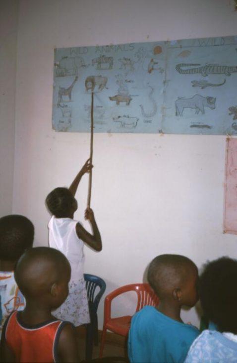 Kindergarten in rural Limpopo Province