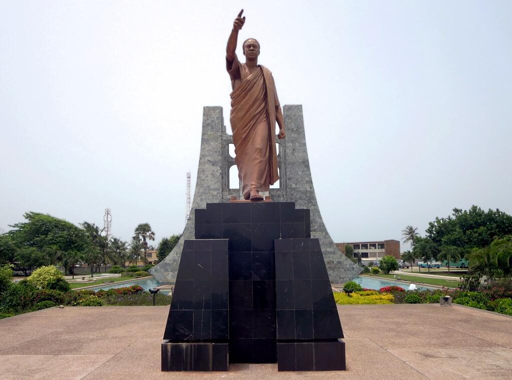 Kwame Nkrumah Statue