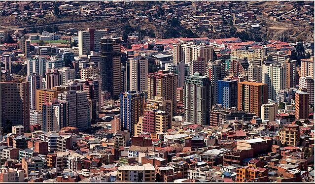 La Paz in 2013