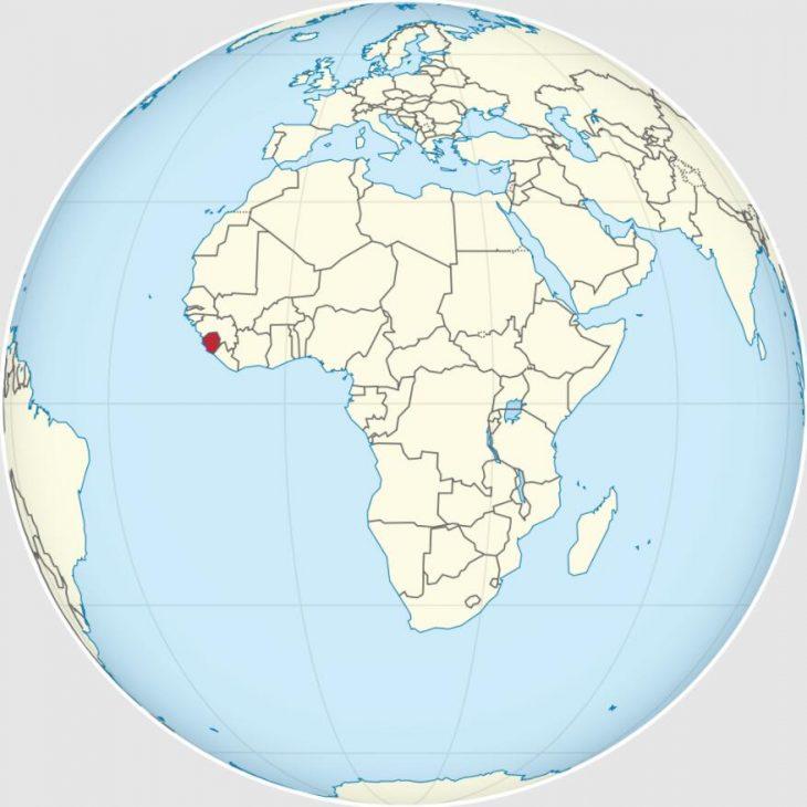 Location Sierra Leones
