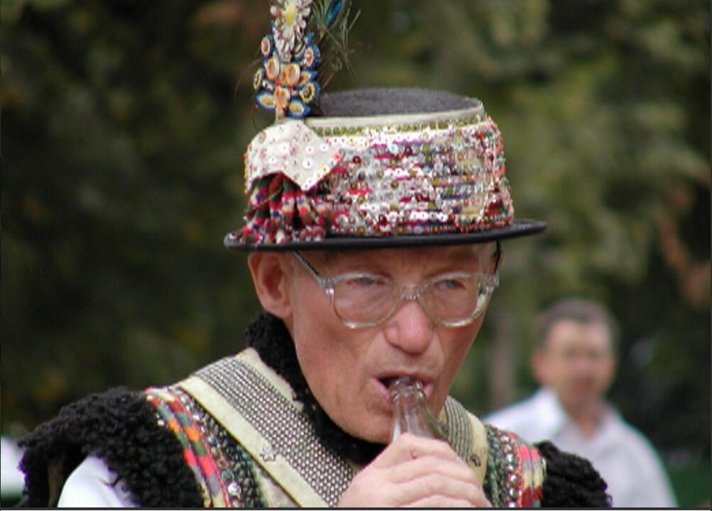 Man in Hutsul costume - Ukraine