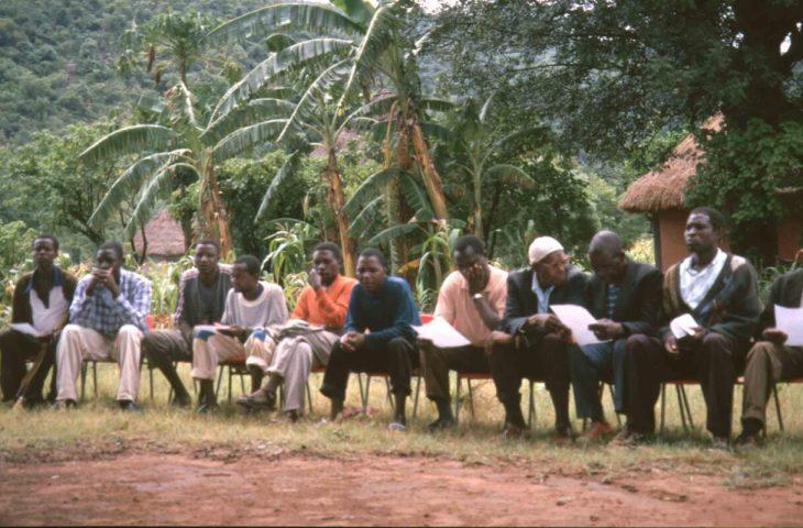 Meeting of rural representatives in the former Homeland Venda