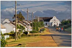 Mission station Elim - parish and church