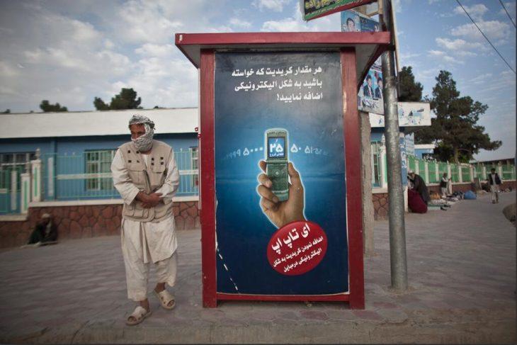 Mobile advertising in Afghanistan
