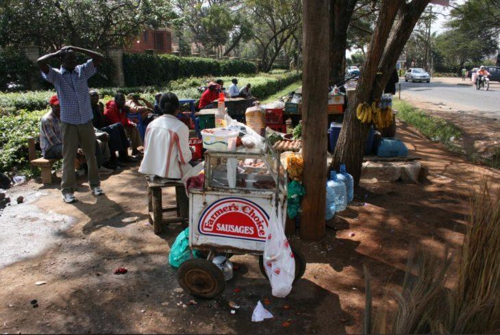 Mobile food stall Westlands Nairobi