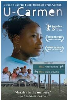 Movie poster Carmen in Khayelitsha