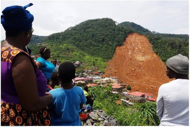 Mudslide, August 2017