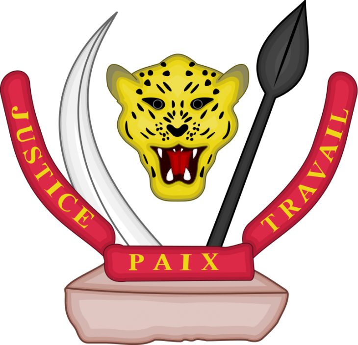 National coat of arms of the Democratic Republic of the Congo