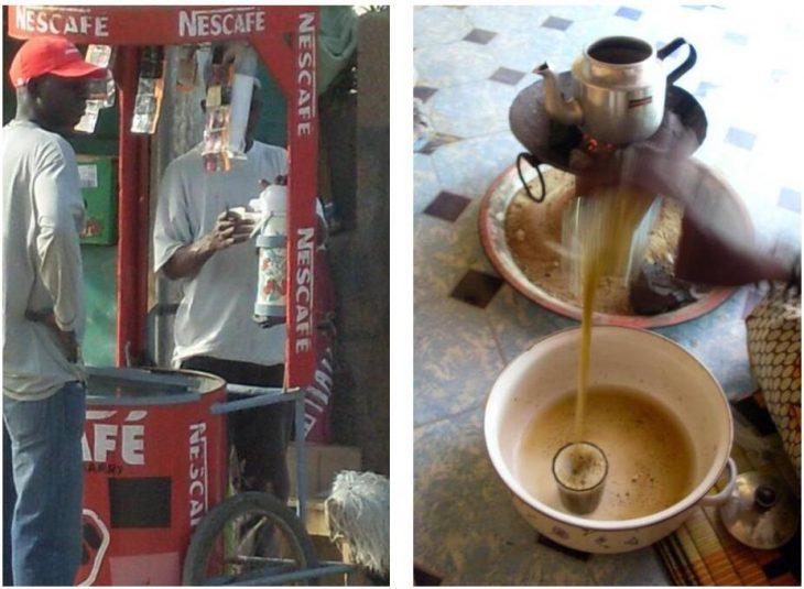 Nescafé seller