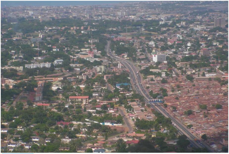 Nima Highway in Accra
