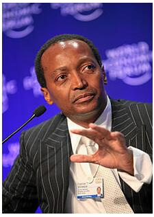Patrice Motsepe - one of the richest businessmen in South Africa