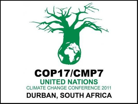 Poster World Climate Summit in Durban 2011