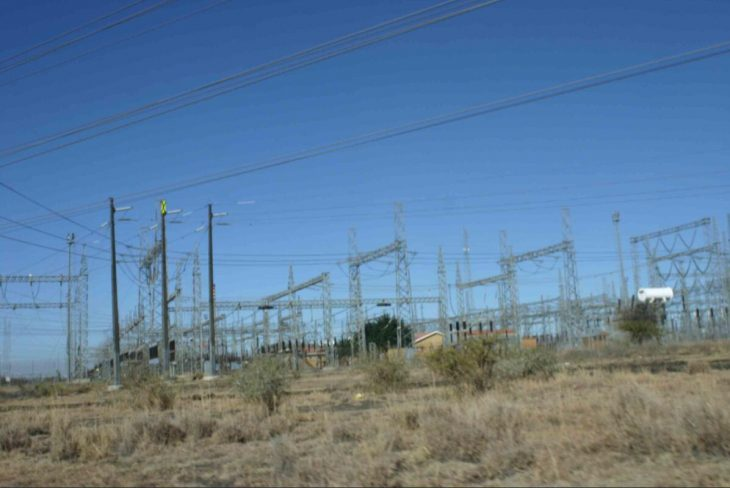 Power grids in South Africa