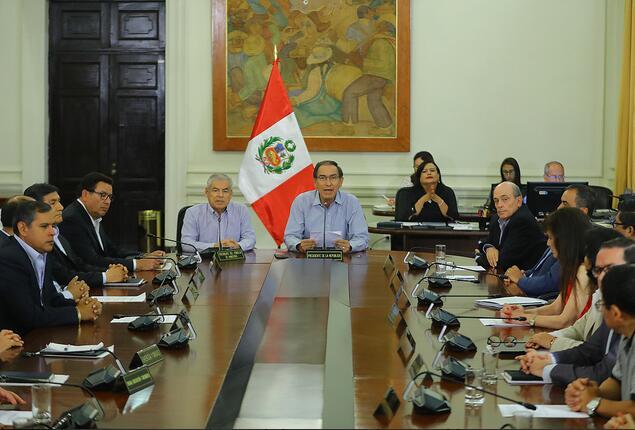 President Martin Vizcarra and Cabinet