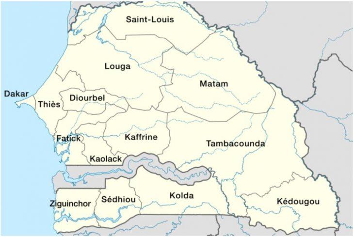 Regions of Senegal