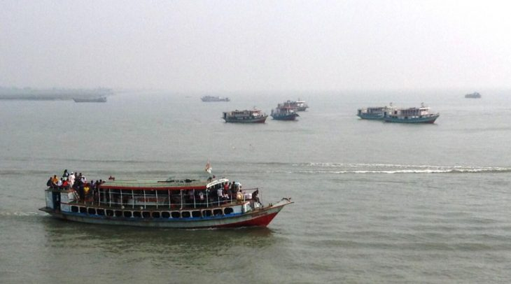 Rivers as central routes for passenger and freight traffic
