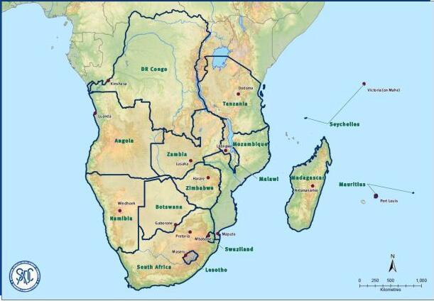 SADC member states