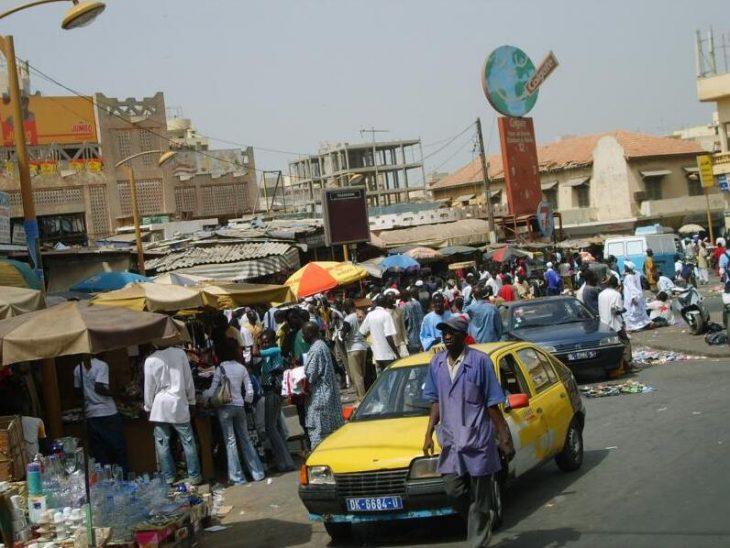 Sandaga, the big market in the center of Dakar