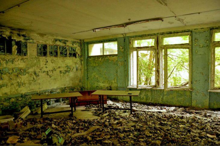 School in Prypyat