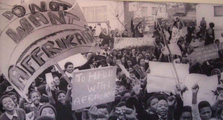 School uprising in Soweto