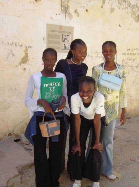 Schoolgirls in St. Louis