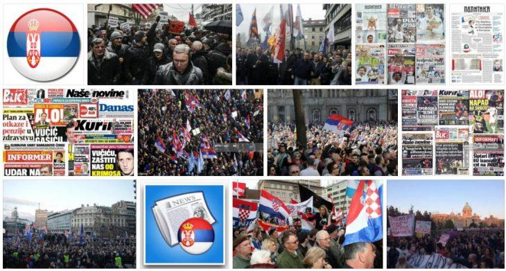 Serbia Internet news portals
