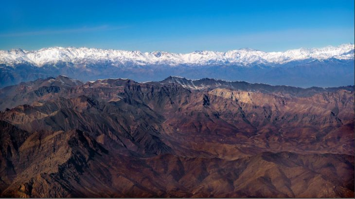 Afghanistan Snow-covered Hindu Kush